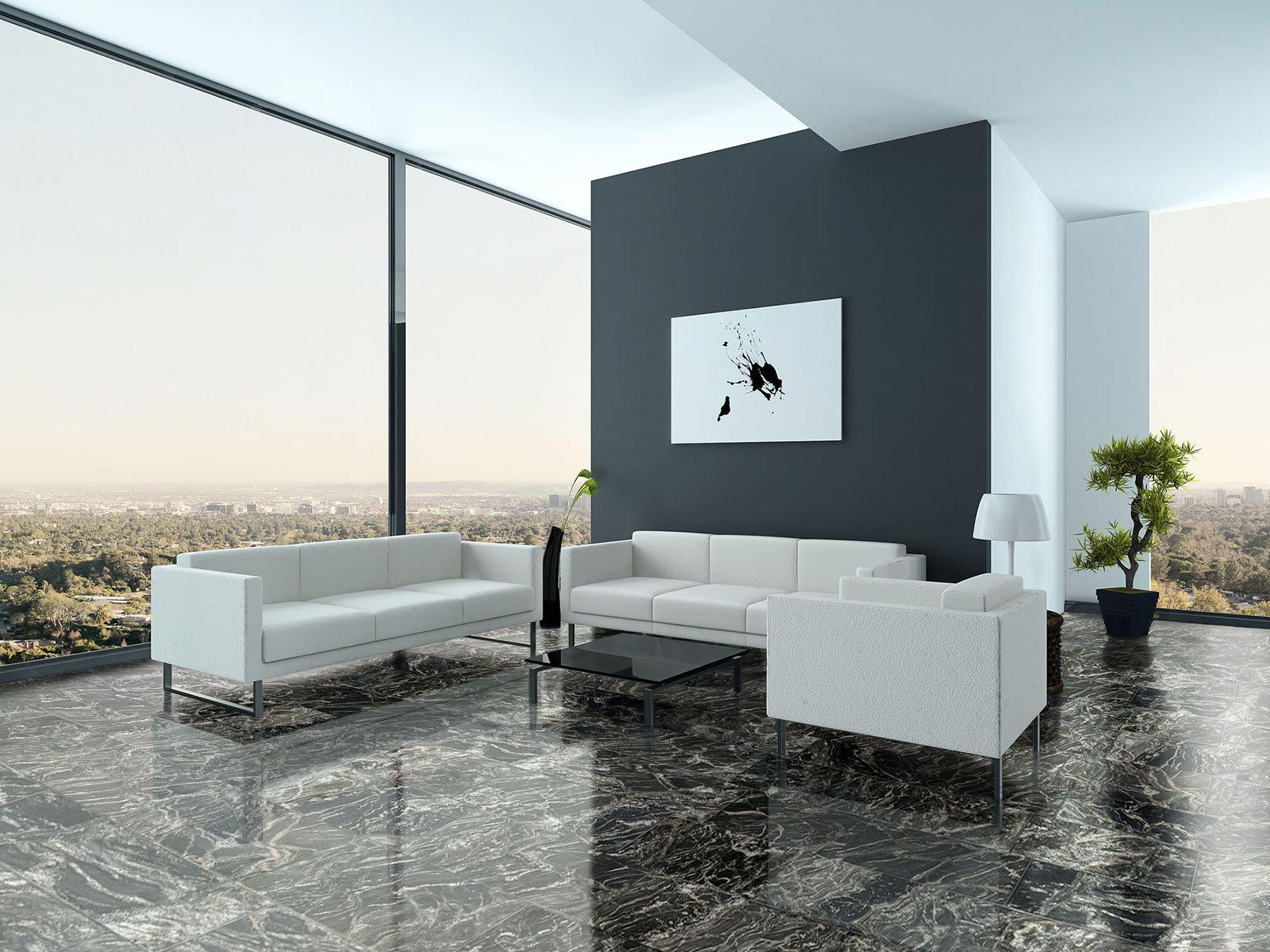 granitfliesen black forest poliert 61 30 5 1 cm feinsteinzeug fliesen granitfliesen. Black Bedroom Furniture Sets. Home Design Ideas
