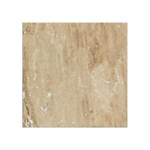 Muster Feinsteinfliese Travertin Beige