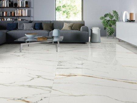 Arabescato White 120x120 Fliesen