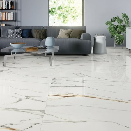 Arabescato White 120x120 Fliesen