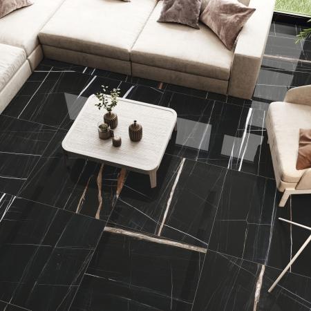 Black Titanium Wohnzimmer Fliesen poliert