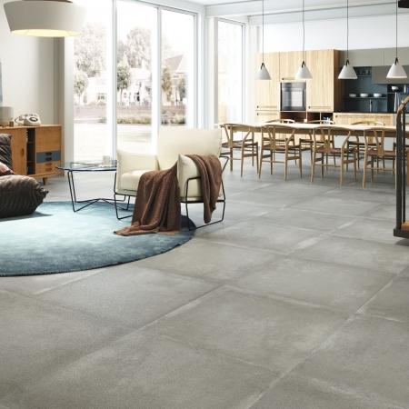 Grafton Grey Feinsteinzeug Fliesen Wohnzimmer