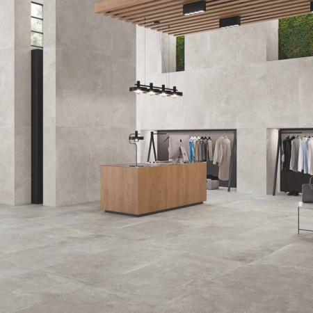 Eternal Grey Feinsteinzeug Fliese 60x60 Boden und Wand