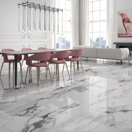 Fresh Blanco Fliese Wohnzimmer Marmoroptik