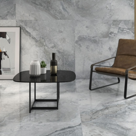 Leyte Grey Wohnzimmer Fliesen 120x60 poliert