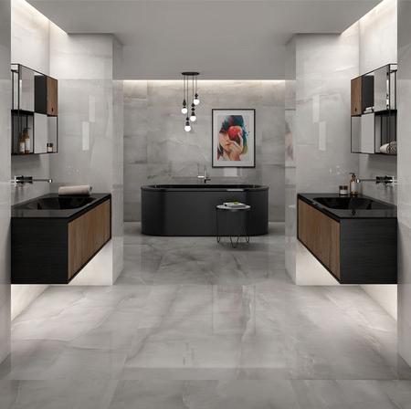Onix Blanco Badezimmer Fliesen