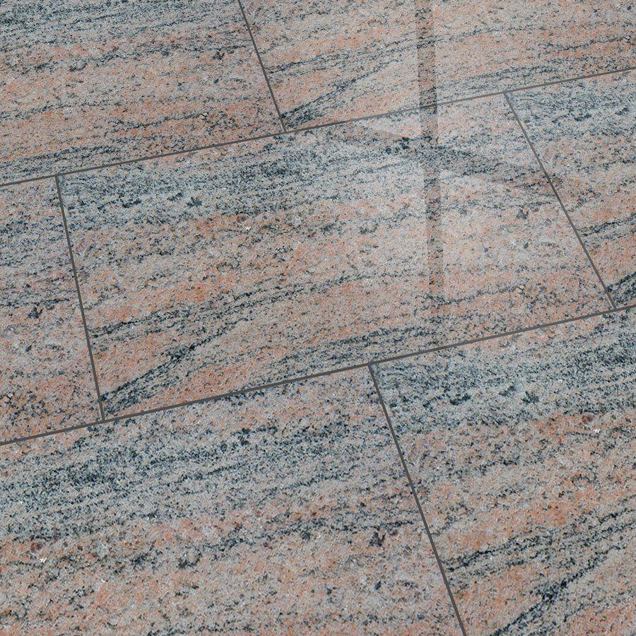 Granitfliesen Juparana India 61×30,5×1 cm poliert | Feinsteinzeug ...